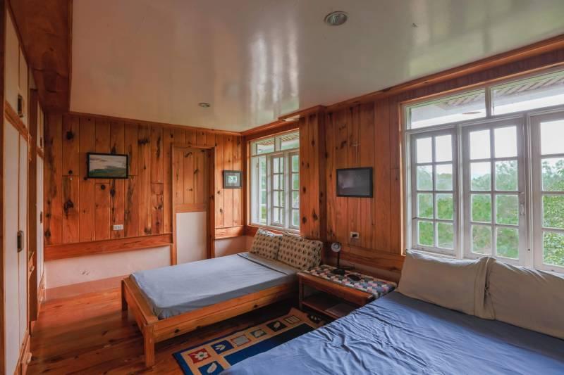 Rooms at Inandako's Sagada. This shows Layad, the upper floor room.